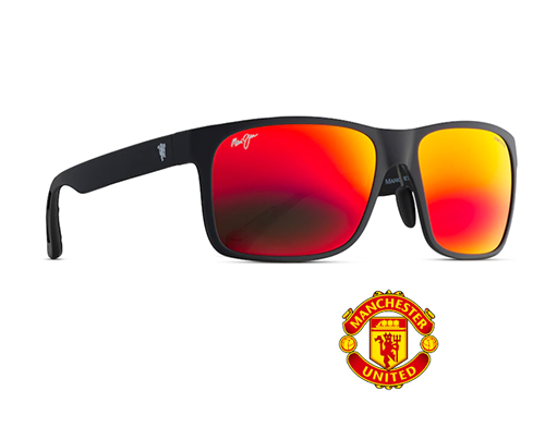 MAUI JIM RED SANDS ASIAN FIT 432N -35UTD MANCHESTER UNITED EDITION
