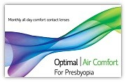 Optimal Vision OPTIMAL VISION Optimal Air Comfort For Presbyopia - ΠΟΛΥΕΣΤΙΑΚΟΣ - ΜΗΝΙΑΙΟΙ - 3 φακοί