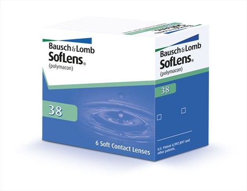 Bausch and Lomb BAUSCH & LOMB -SOFLENS 38 - ΜΥΩΠΙΑΣ & ΥΠΕΡΜΕΤΡΩΠΙΑΣ- ΜΗΝΙΑΙΟΙ - 6 ΦΑΚΟΙ