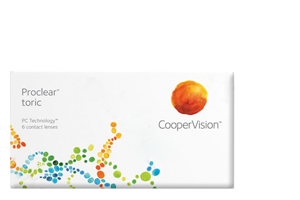 Cooper Vision COOPERVISION - PROCLEAR COMPATIBLES TORIC - ΑΣΤΙΓΜΑΤΙΣΜΟΥ - ΜΗΝΙΑΙΟΙ - 3 ΦΑΚΟΙ