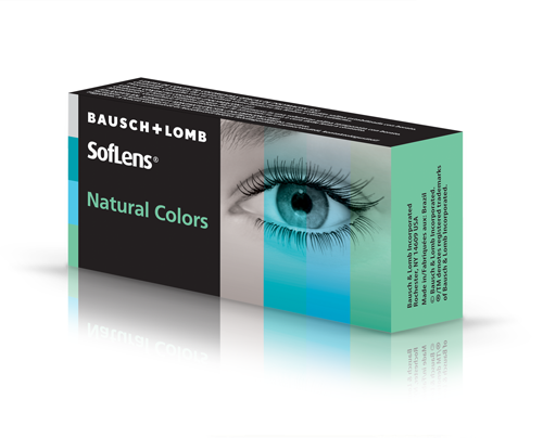 Bausch and Lomb BAUSCH & LOMB - SOFLENS NATURAL COLORS -ΕΓΧΡΩΜΟΣ - ΜΗΝΙΑΙΟΙ - 2 ΦΑΚΟΙ