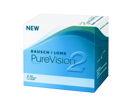 Bausch and Lomb BAUSCH & LOMB - PUREVISION 2- ΜΥΩΠΙΑΣ & ΥΠΕΡΜΕΤΡΩΠΙΑΣ - ΜΗΝΙΑΙΟΙ - 6 ΦΑΚΟΙ