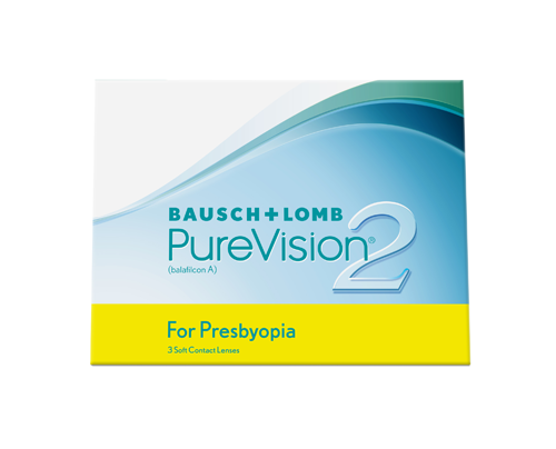 Bausch and Lomb BAUSCH & LOMB - PUREVISION 2 For Presbyopia - ΠΟΛΥΕΣΤΙΑΚΟΣ - ΜΗΝΙΑΙΟΙ -3 ΦΑΚΟΙ